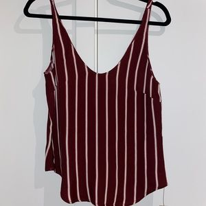 REFORMATION Striped Tank Top